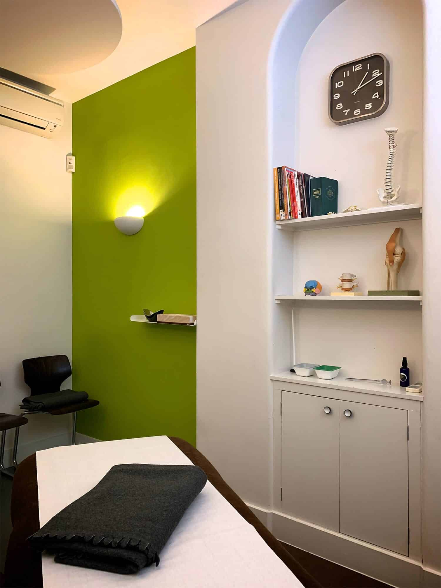 Room 1 our accessible therapy room to rent for Central and East London in Bethnal Green