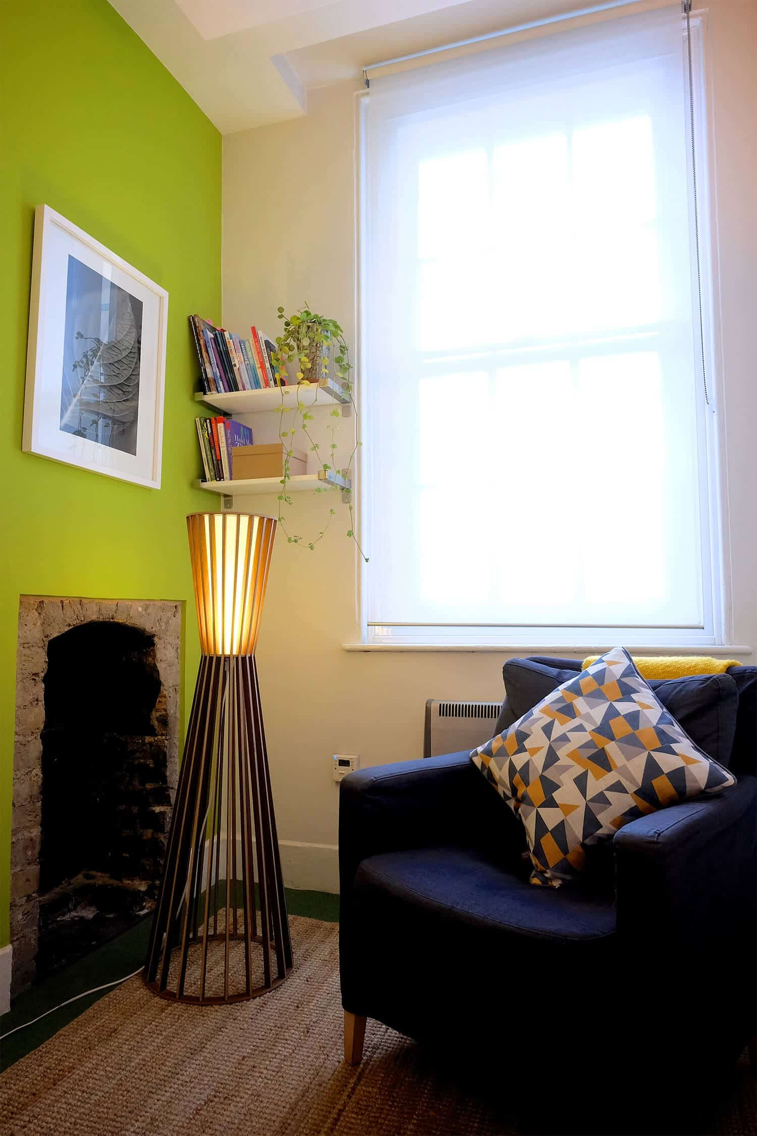 Room 2 our talking therapy room to rent for Central and East London in Bethnal Green