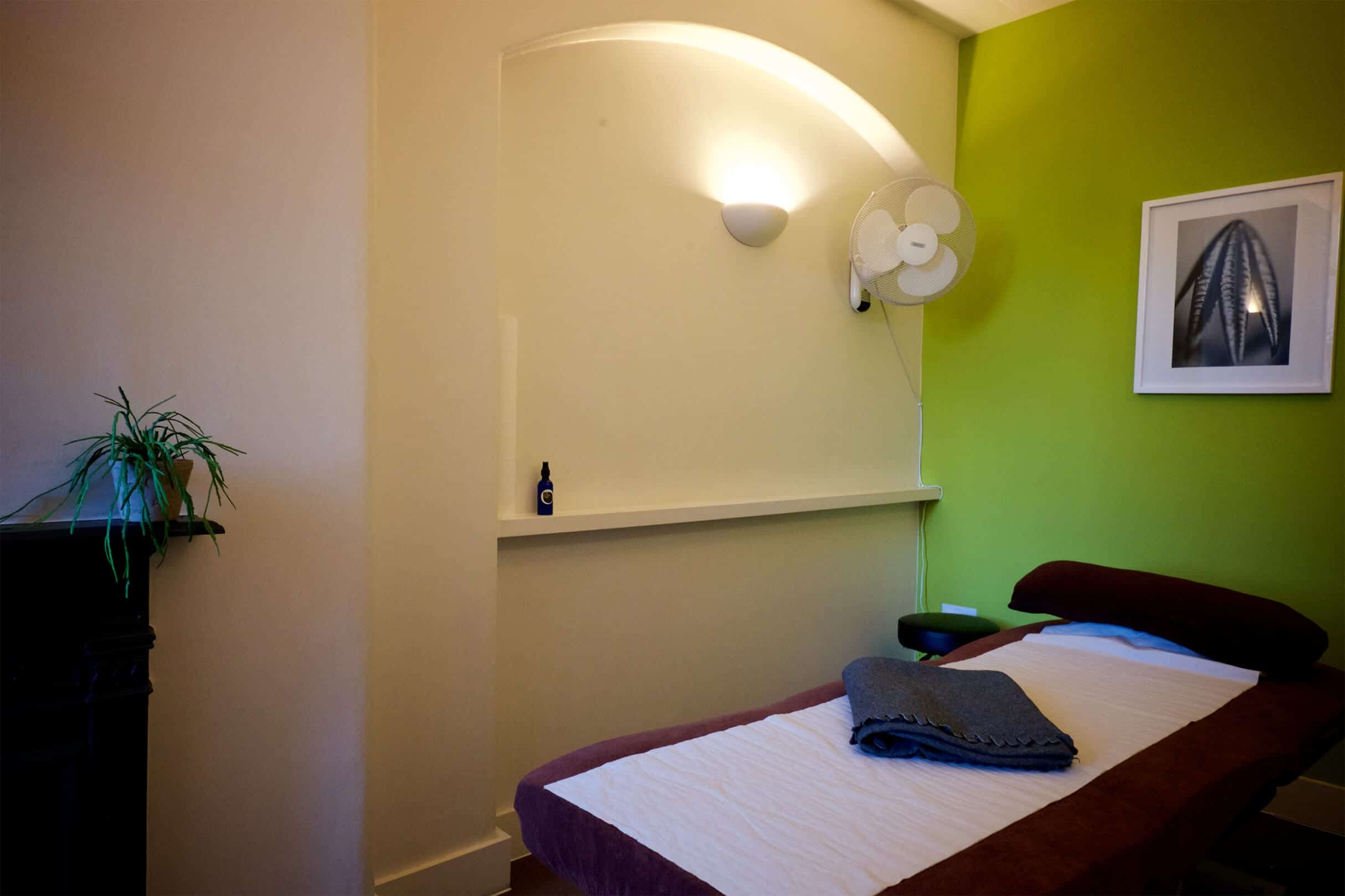 Room 3 our manaual therapy room to rent for Central and East London in Bethnal Green